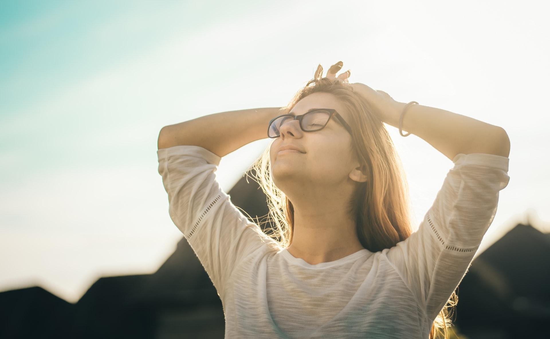 ニキビ改善のストレス解消法