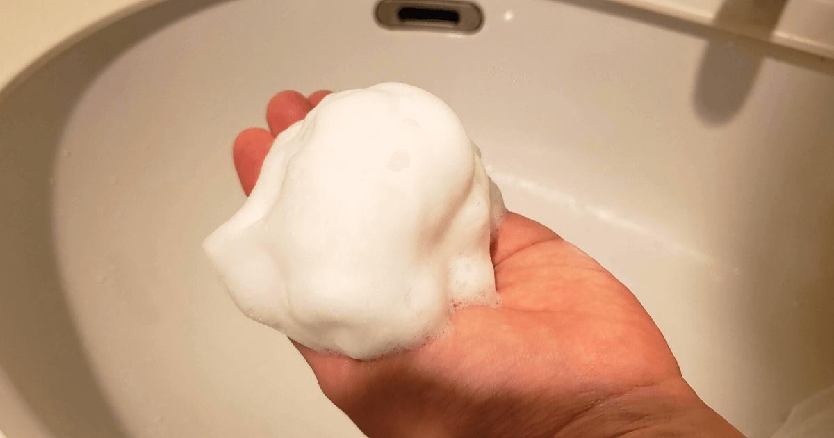コイヴの洗顔の見た目